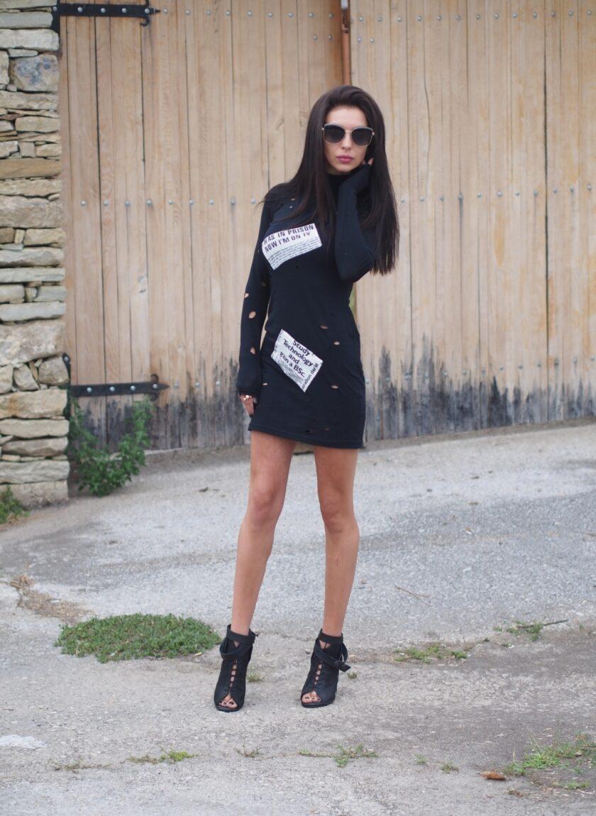 екстравагантна дамска рокля